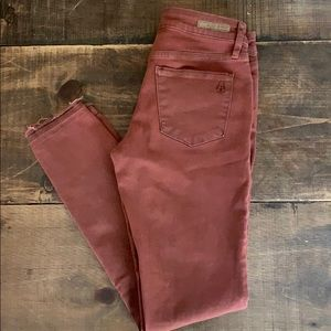Articles Of Society Jeans - Skinny jeans shredded hem EUC SOFT/stretchy